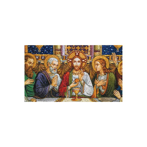 Mass Card - Last Supper Mosaic