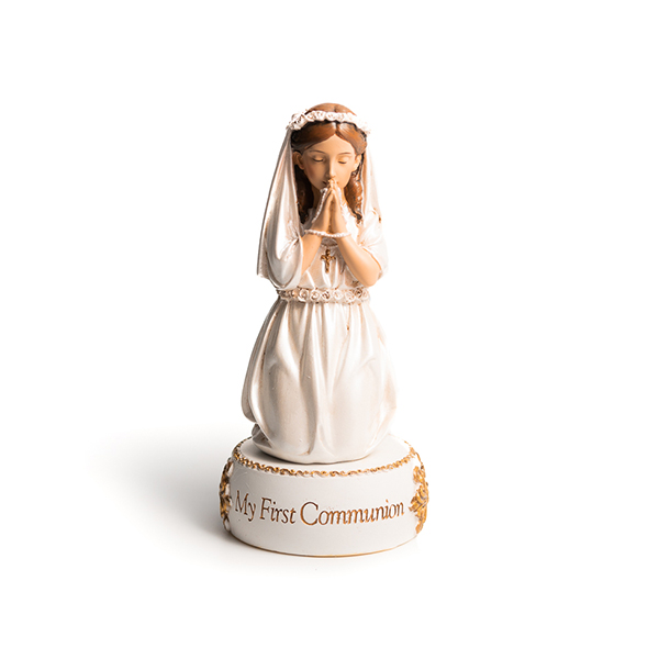 My First Communion Statue Girl