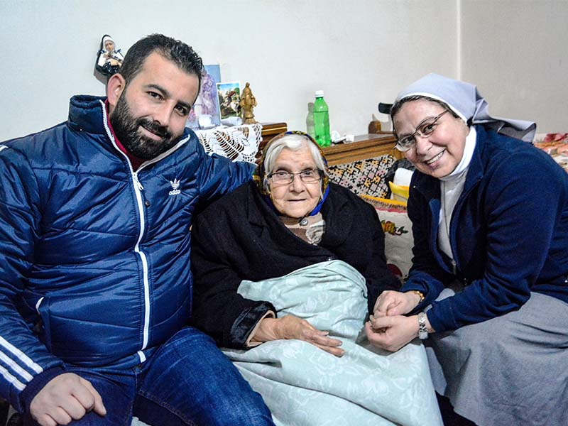 SYRIA: NINE YEARS OF WAR - Religious sister living in Syria talks about the country's tragic conditions.
