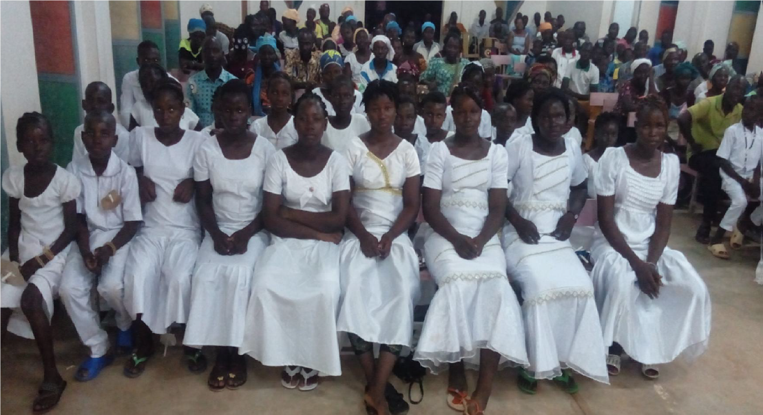 Burkina Faso: First Holy Communion in between terrorism and COVID-19