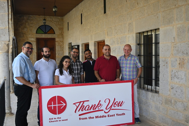 LEBANON: They count on us for help – both spiritual and financial