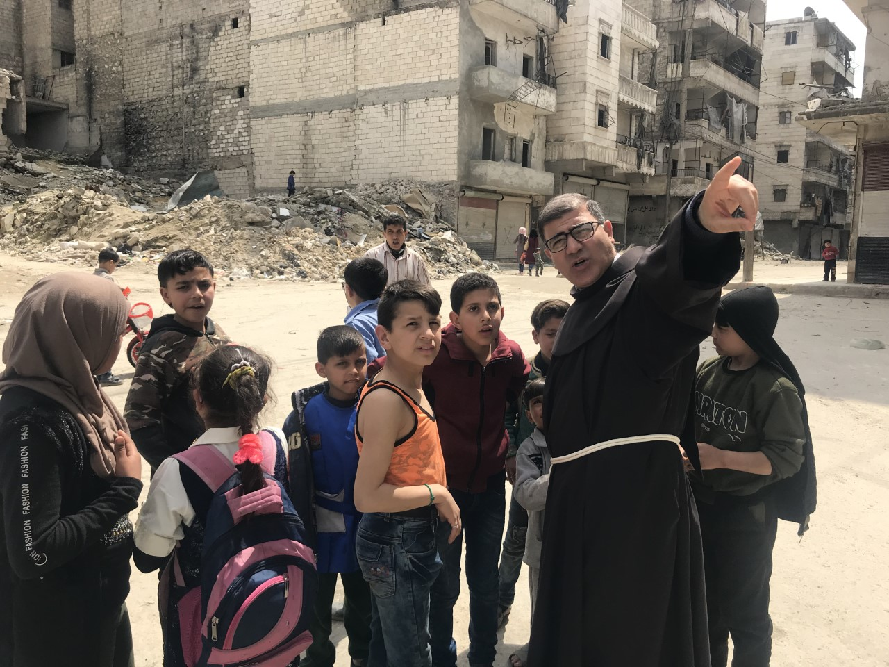 Syria: The two Franciscan Friars giving hope to Christians living under Sharia in Idlib province