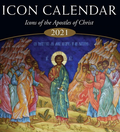 2021 Icon Calendar: Icons of the Apostles of Christ