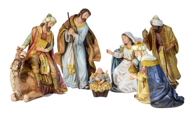 6 Piece Traditional Nativity Set