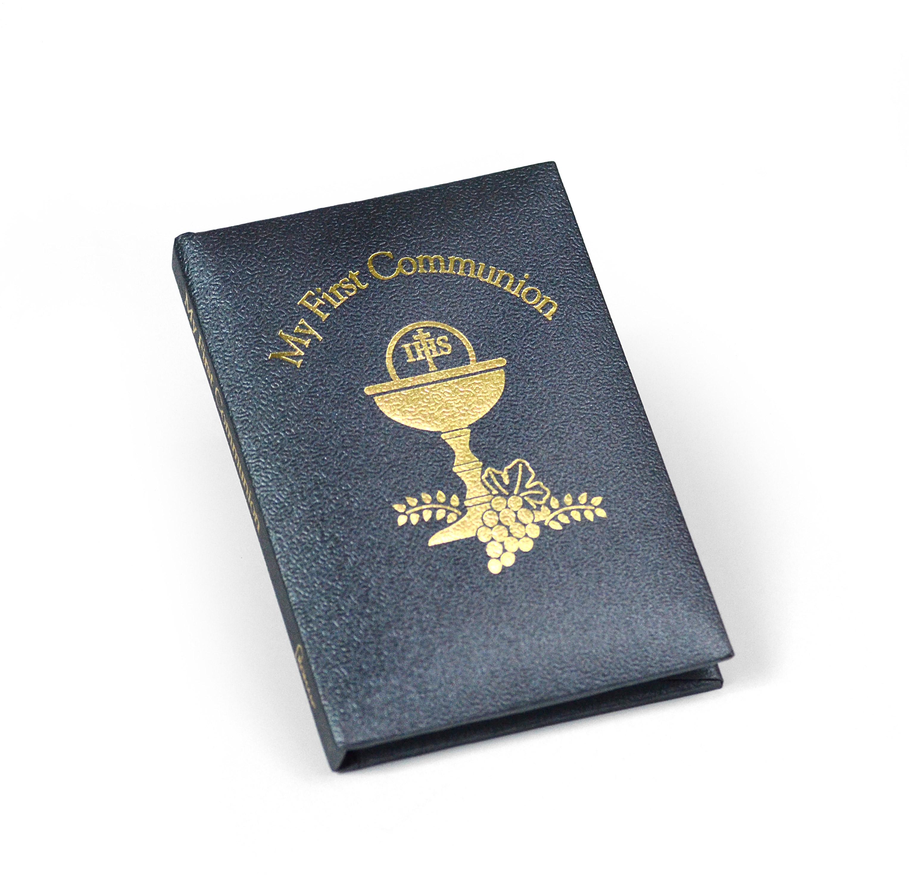 First Communion Prayer Book - Grey