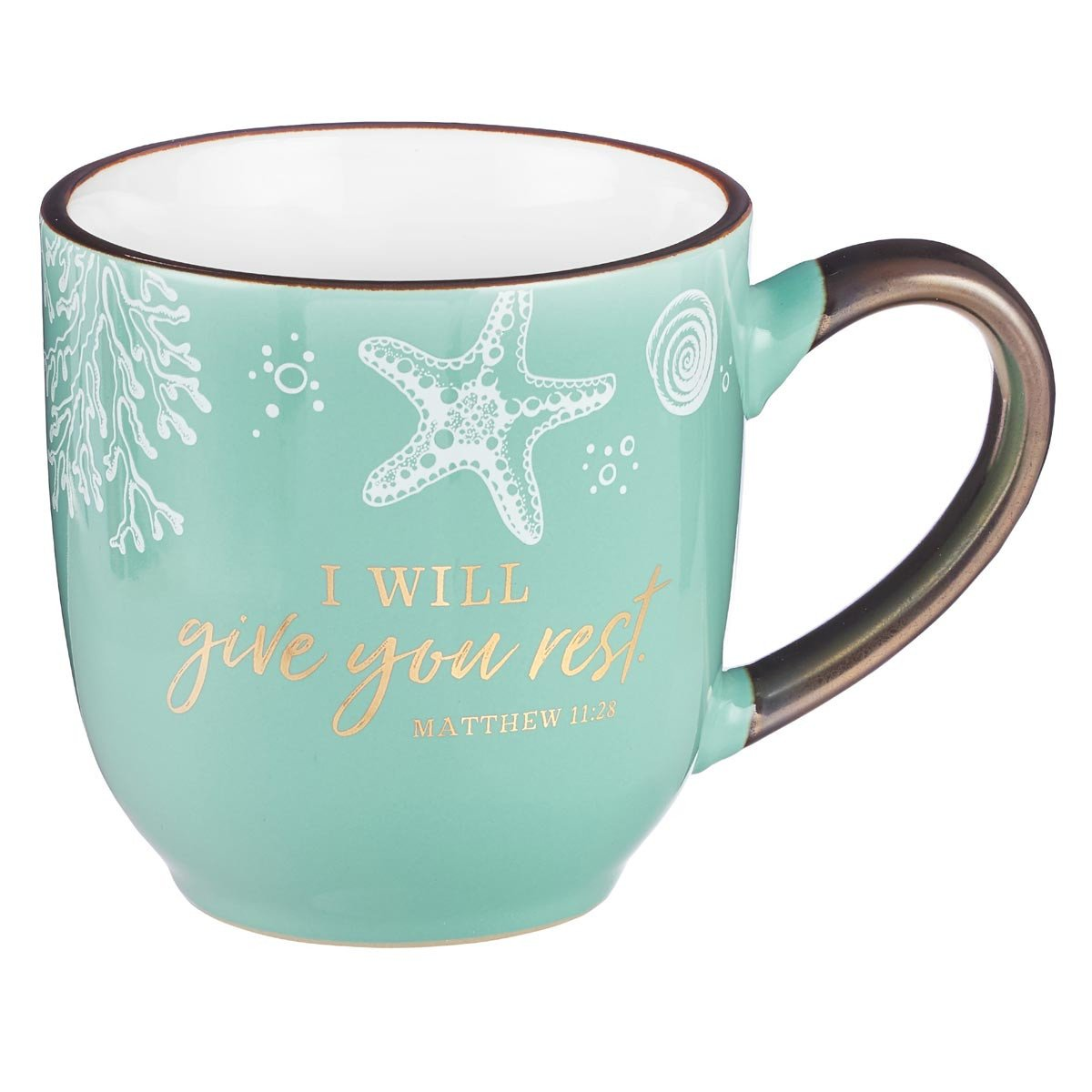 I Will Give You Rest Mug