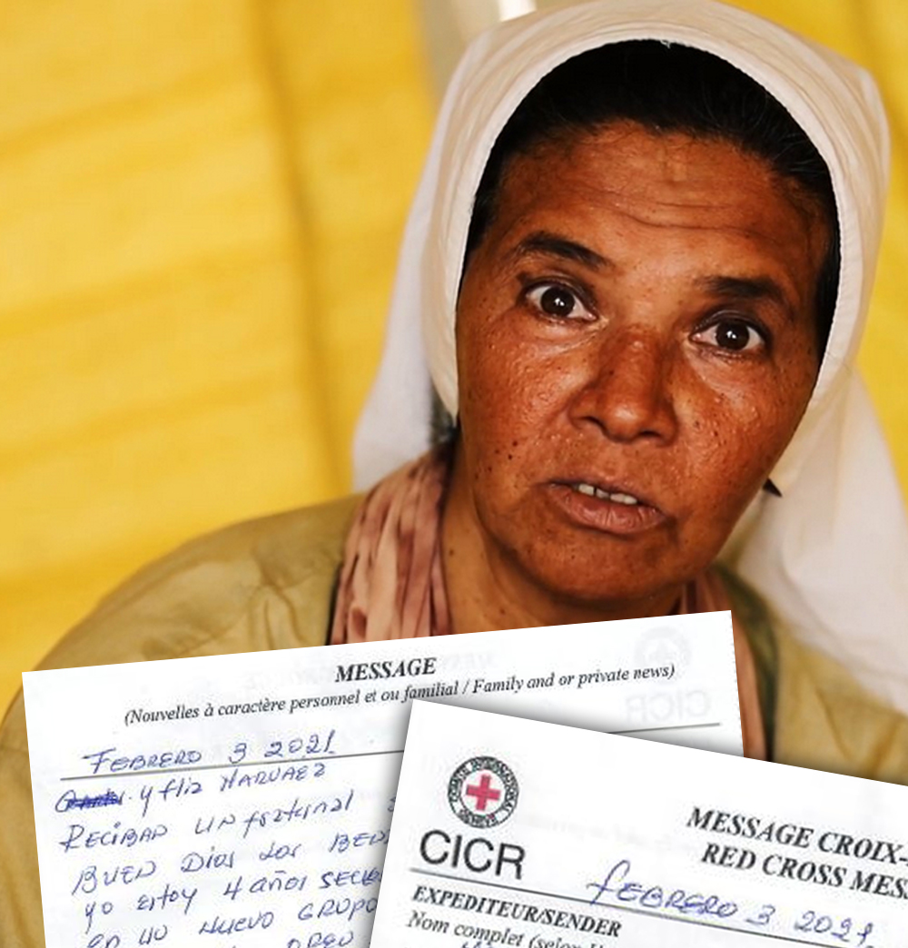 Latest message to her family from Sister Gloria, a hostage in Mali since 2017