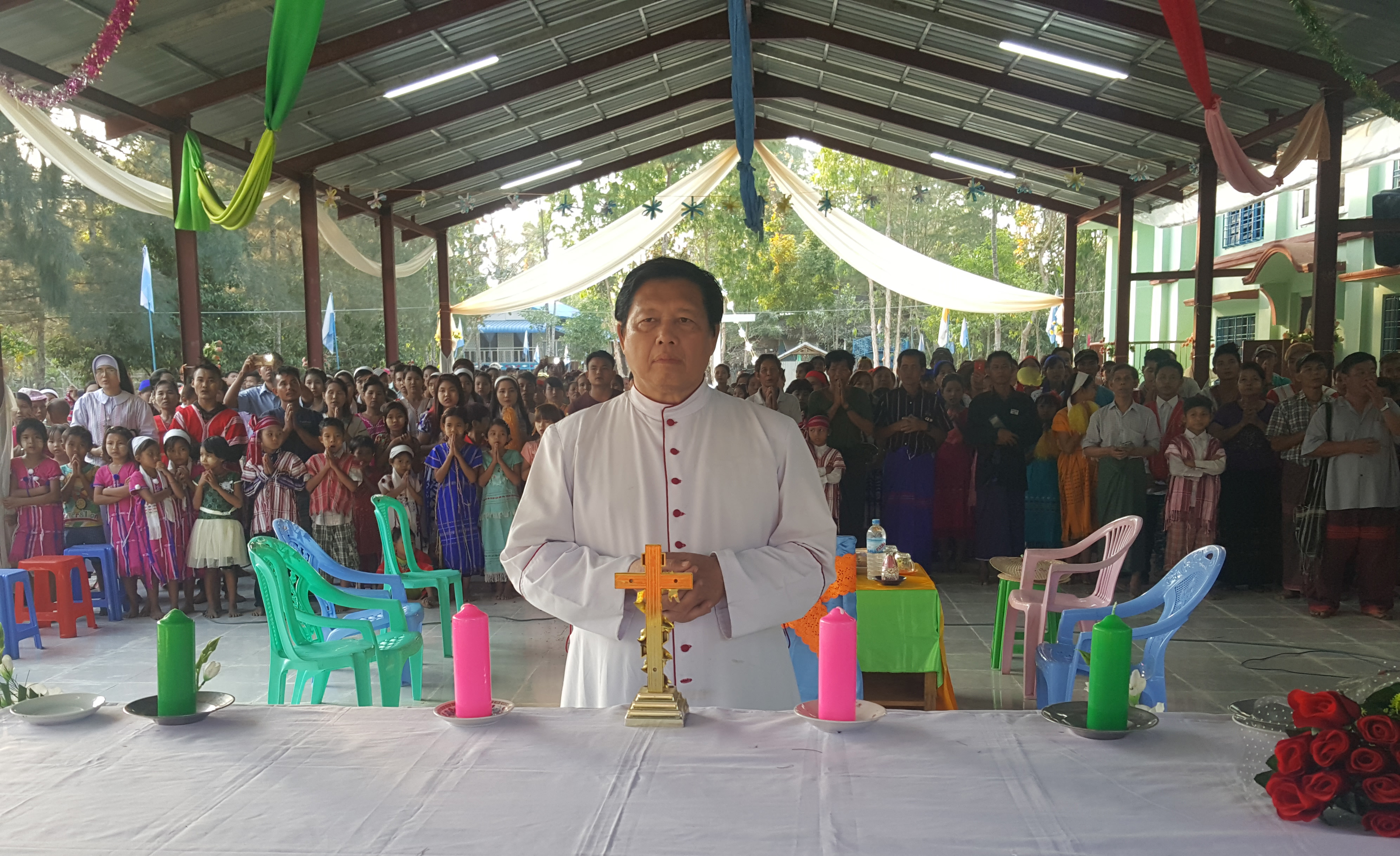 Catholic bishop in Myanmar dies - he lived with and for his people
