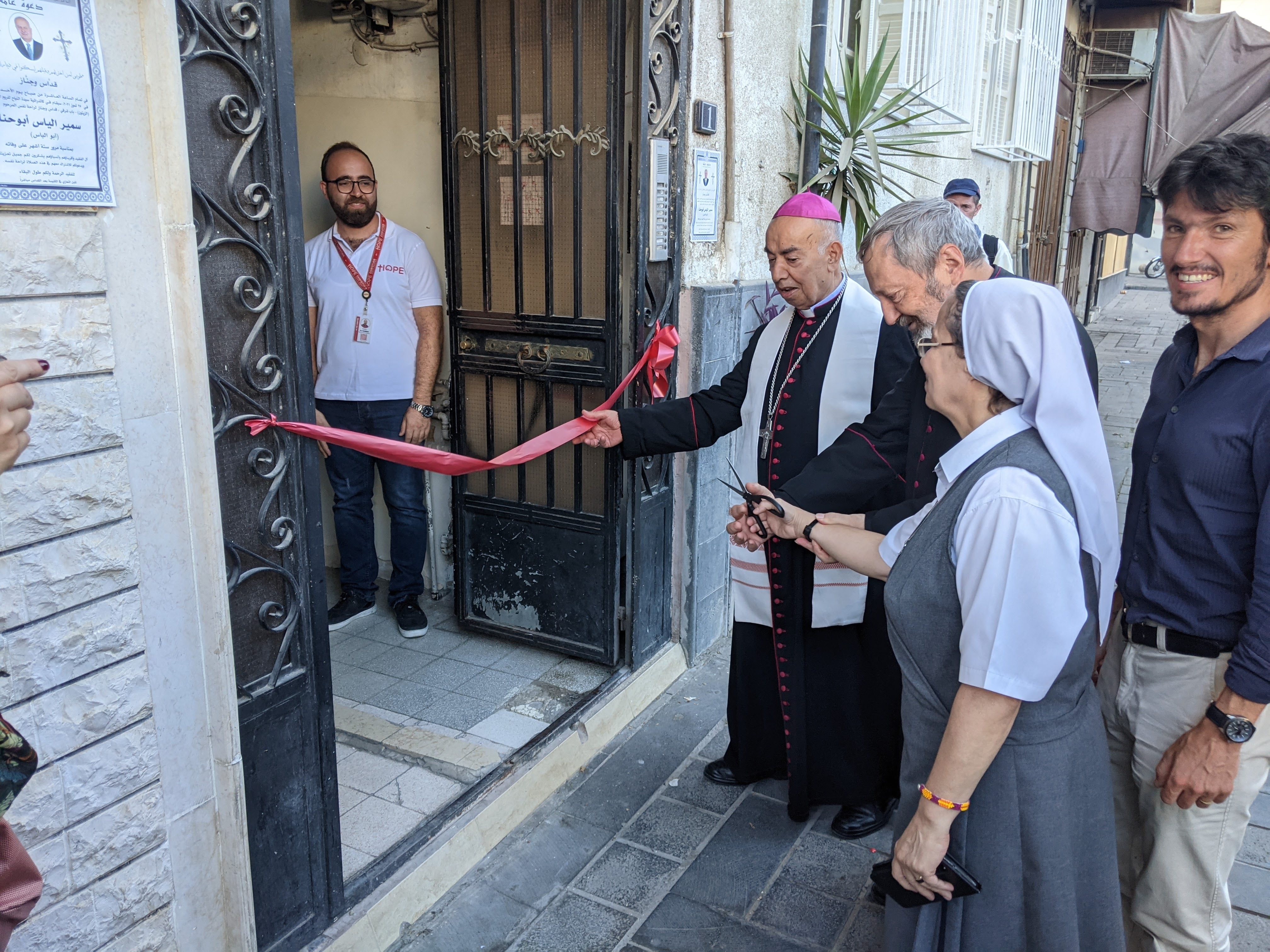 New microprojects centre in Damascus provides hope to Syria's embattled Christians