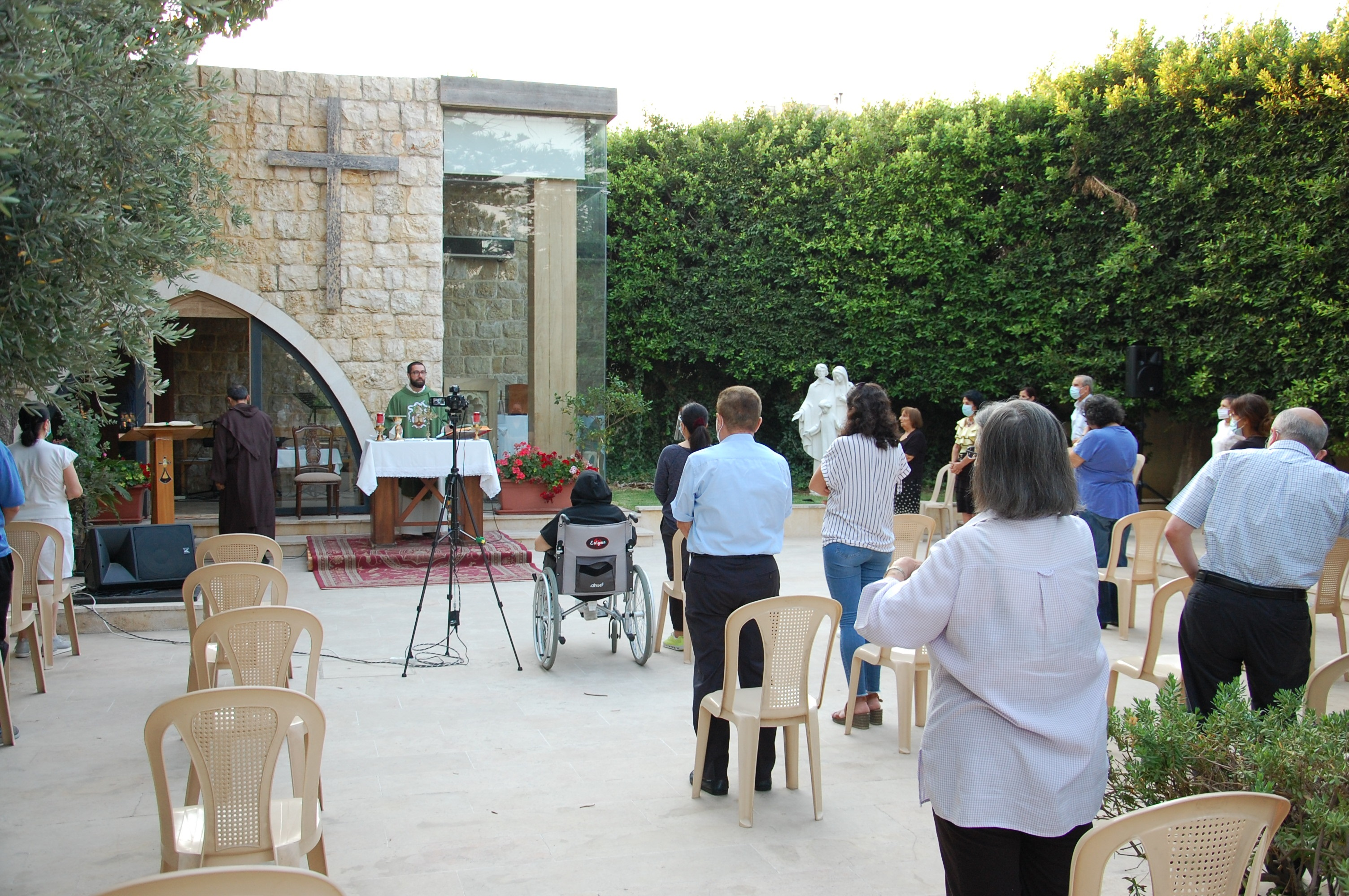 Lebanon – the Carmelite monastery in Hazmieh