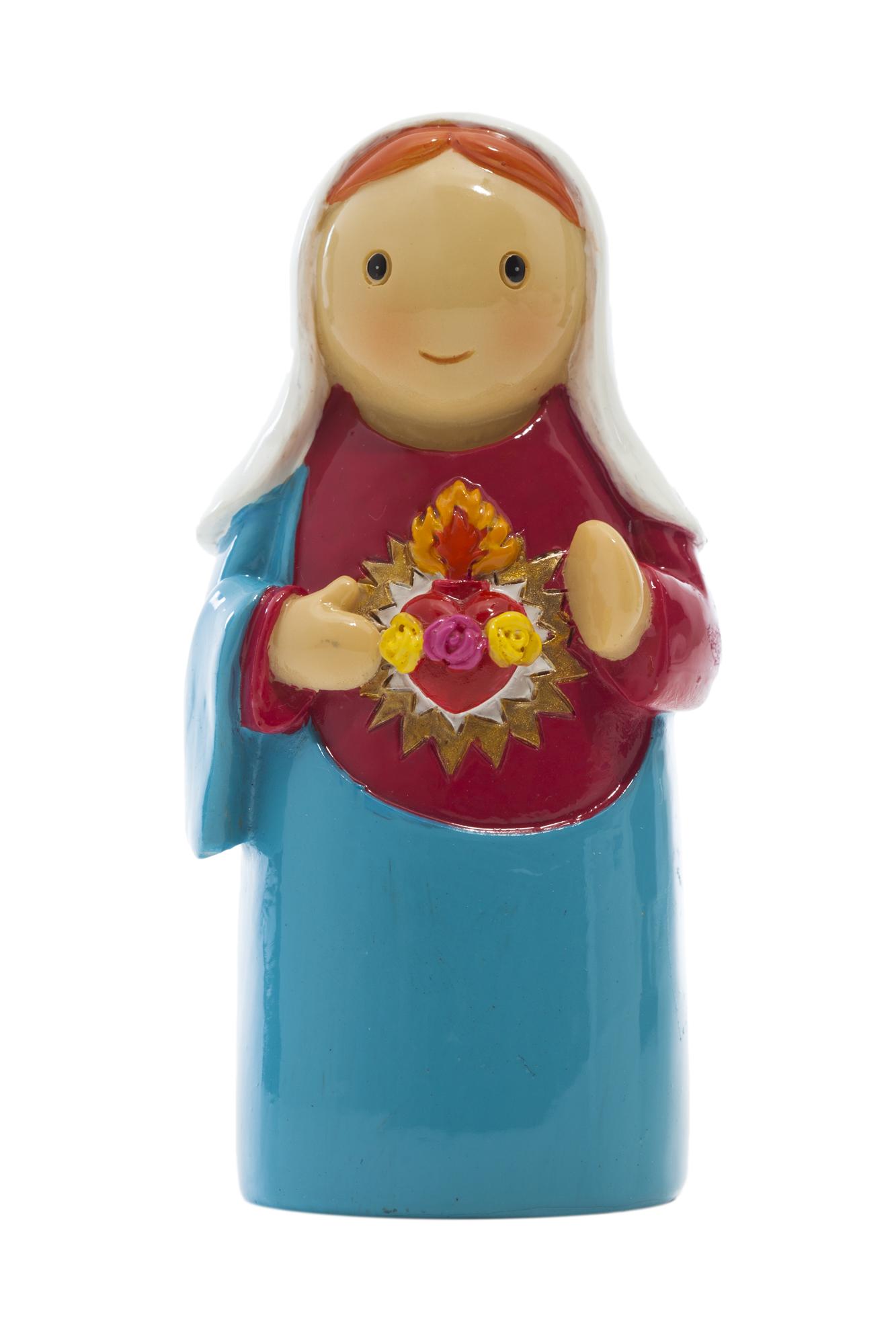 Immaculate Heart Statue (Little Drops)