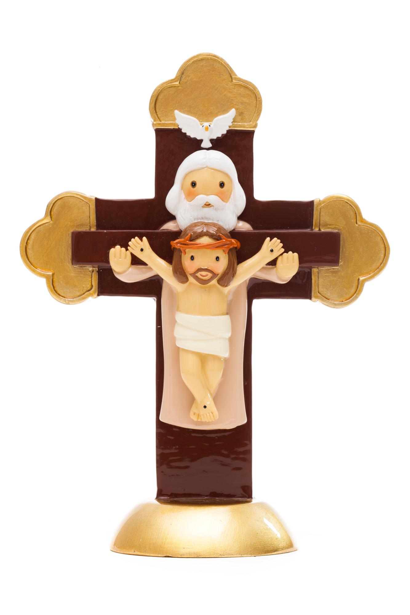 Holy Spirit Cross Statue (Little Drops)
