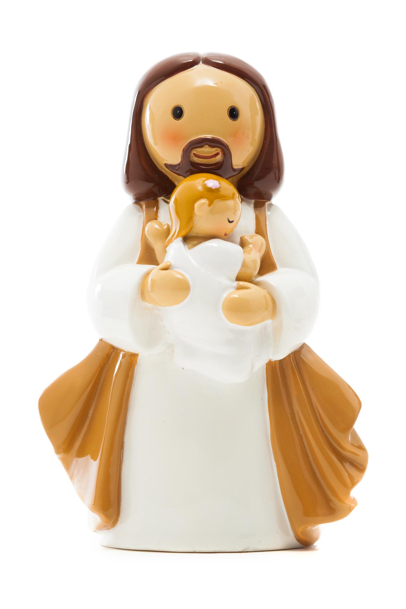 Baby Girl Baptism Statue (Little Drops)