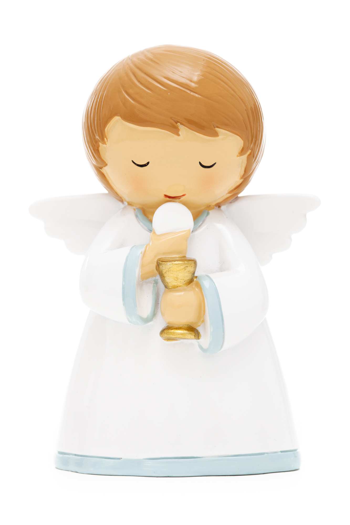 First Communion Chalice & Boy Statue (Little Drops)
