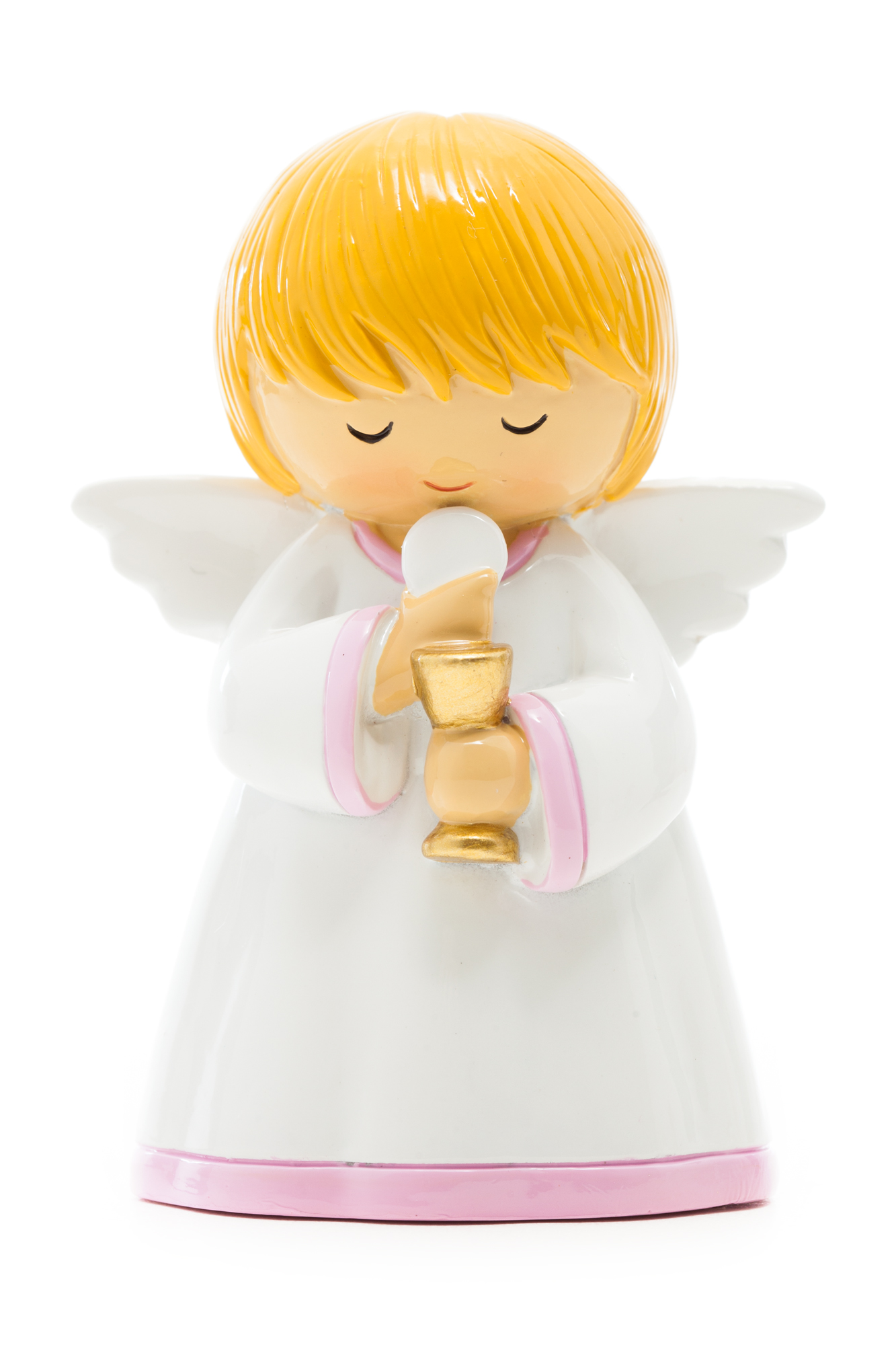 First Communion Chalice & Girl Statue (Little Drops)