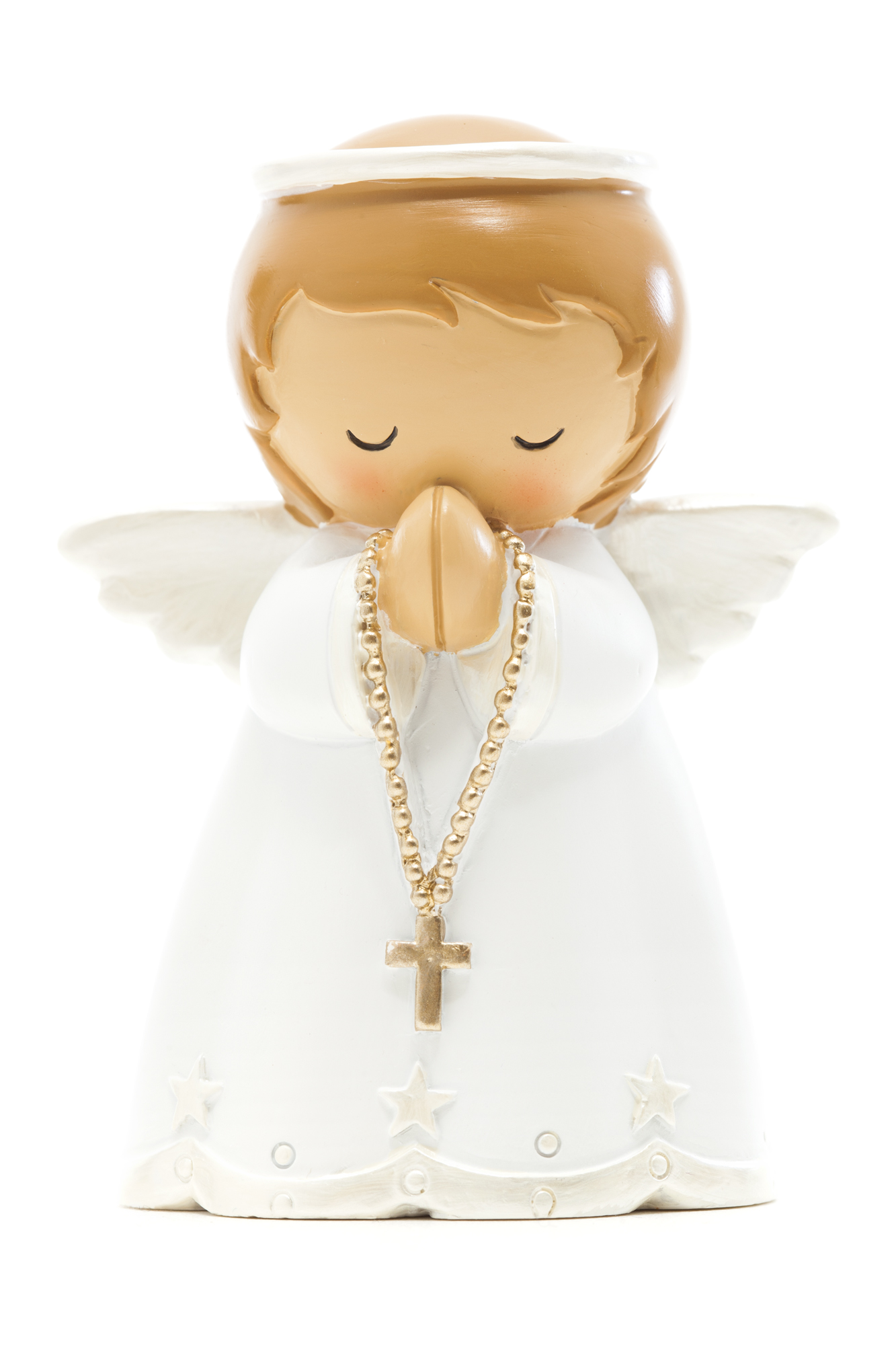 Baby Angel White Statue (Little Drops)