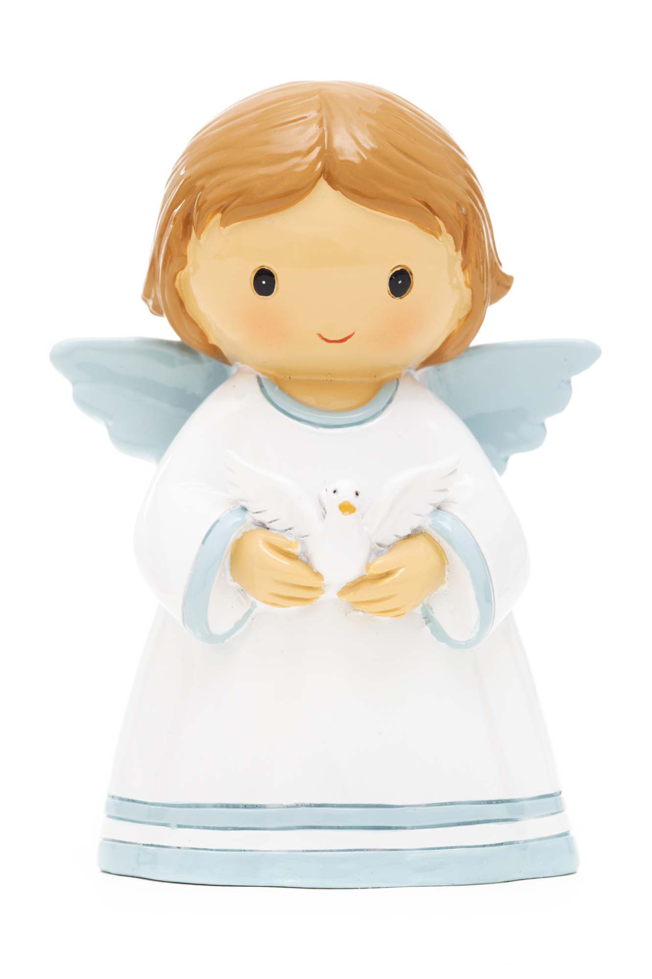 Baby Angel Boy with Dove Statue (Little Drops)
