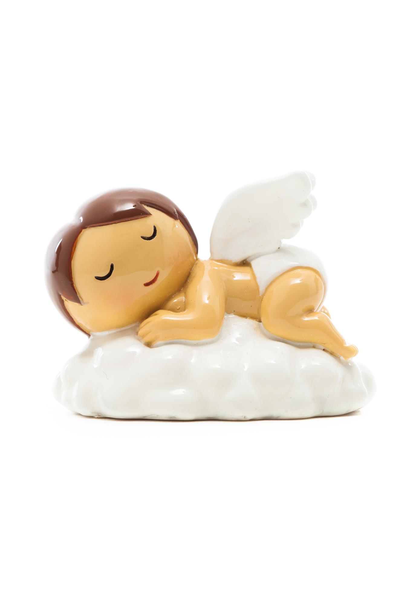Baby Angel Sleeping on Cloud Statue (Little Drops)
