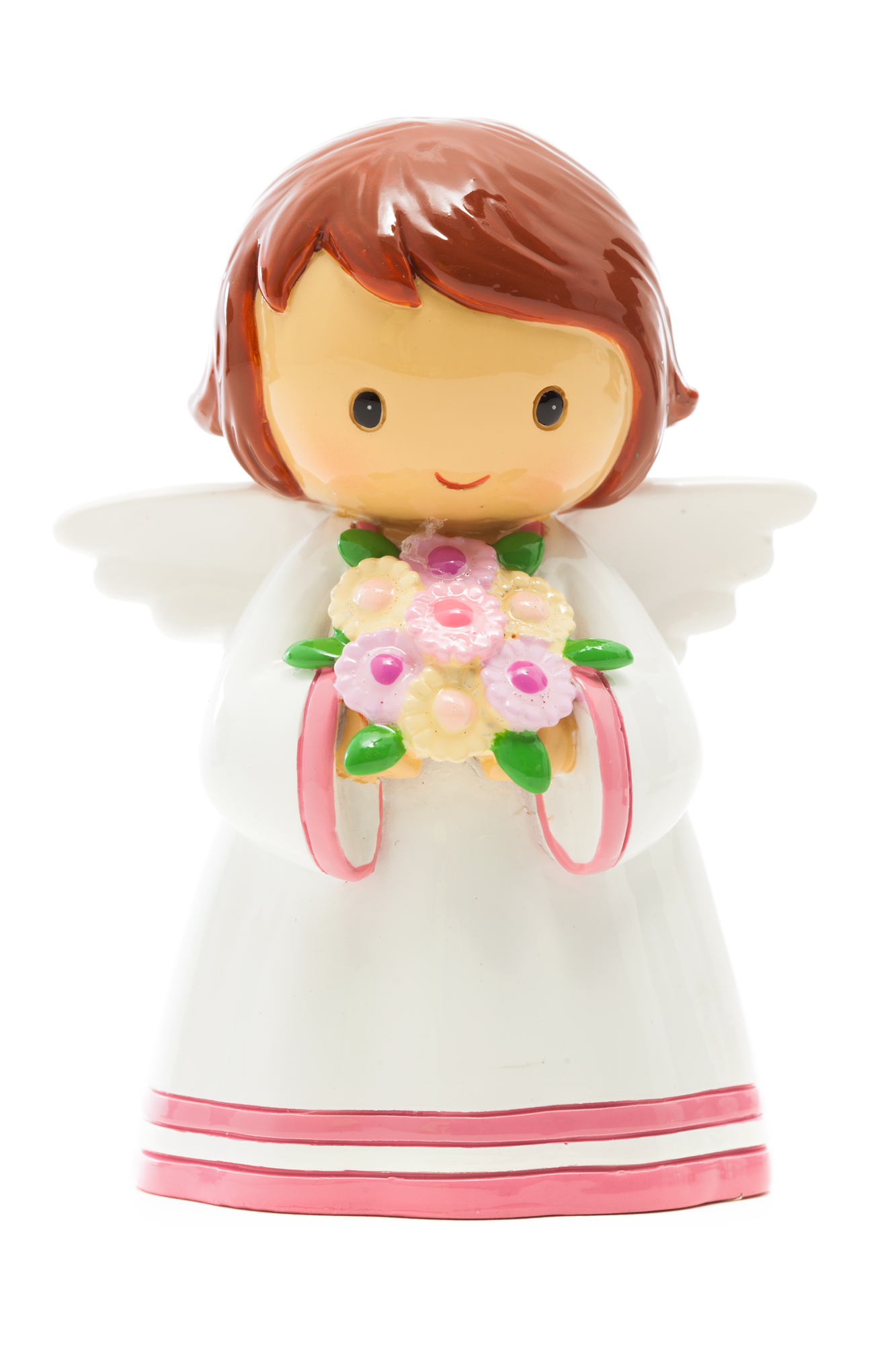 Angel with Flowers Statue (Little Drops)