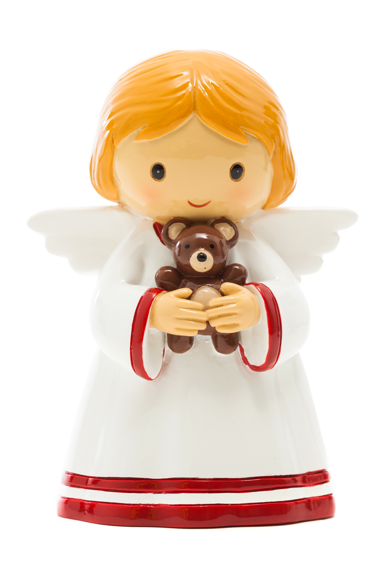 Angel with Bear Statue (Little Drops)