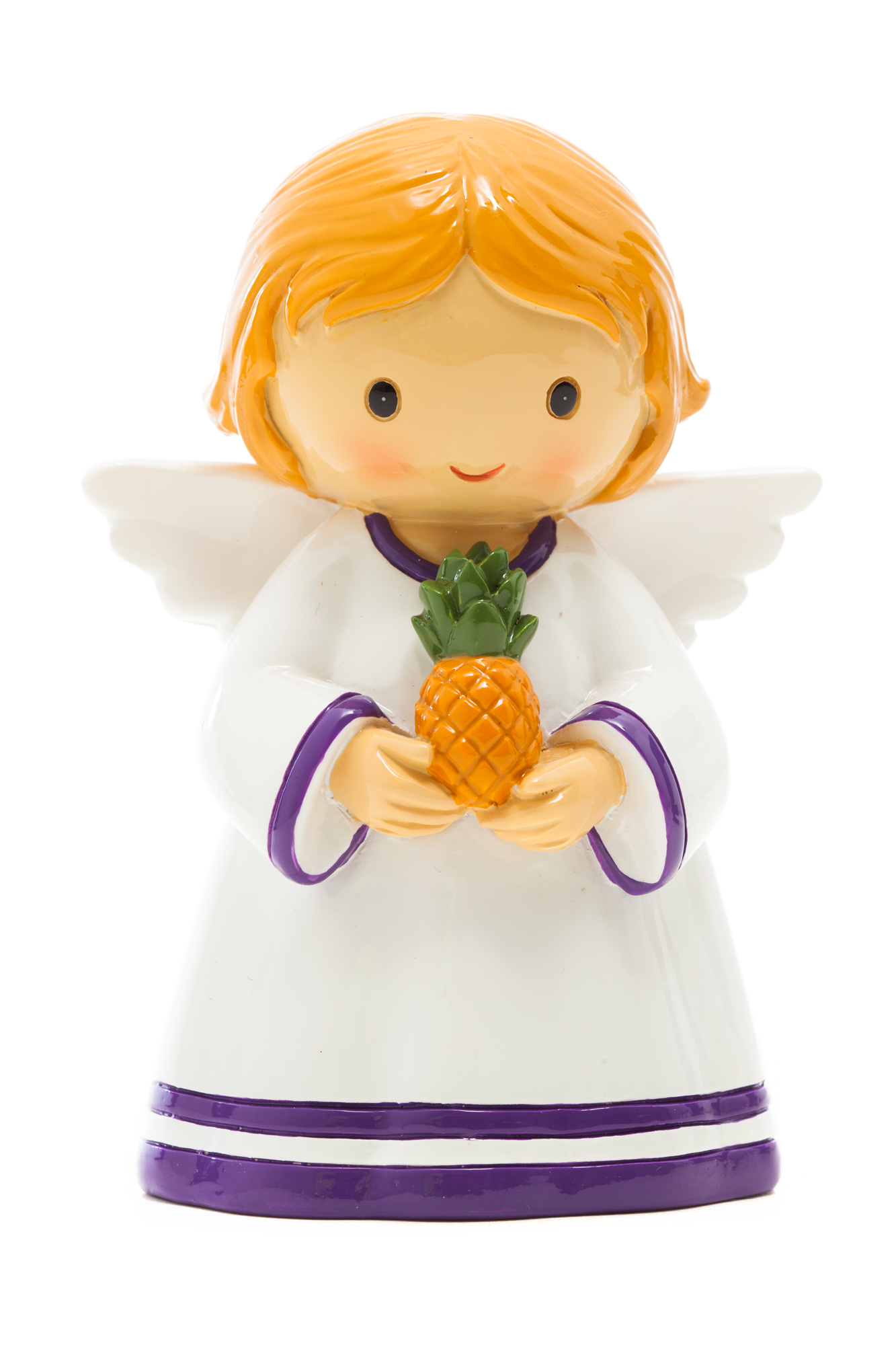 Angel with Pineapple Statue (Little Drops)