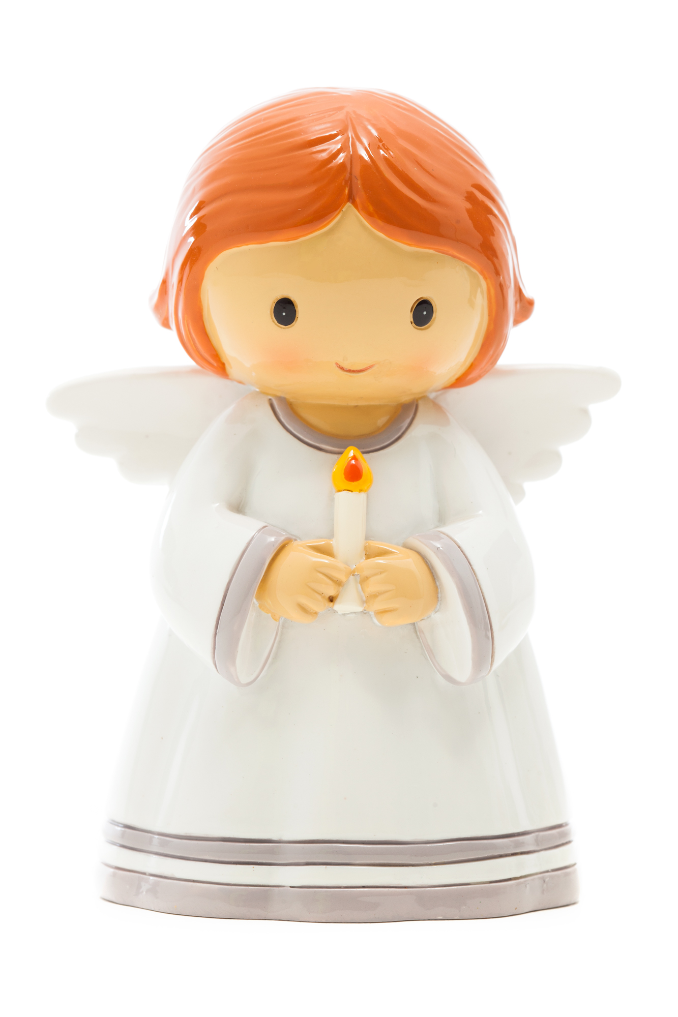 Angel with Candle Statue (Little Drops)