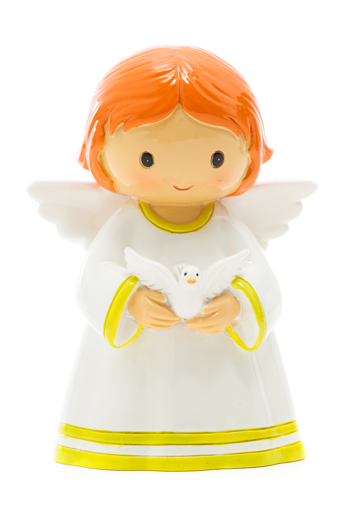 Angel with Dove Statue (Little Drops)