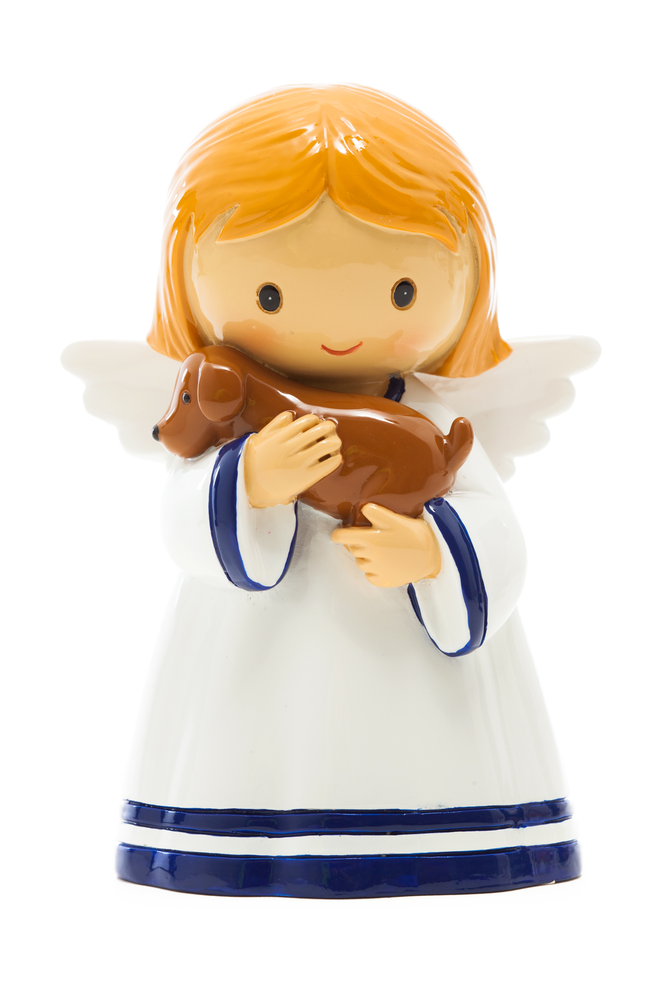 Angel with Puppy Statue (Little Drops)