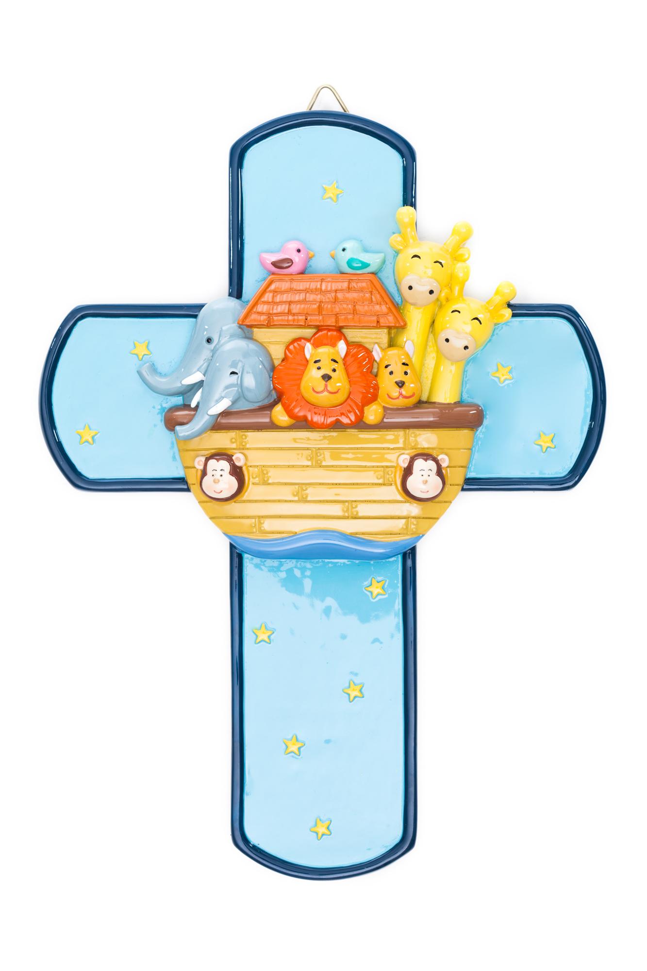 Noah's Ark Cross (Little Drops)