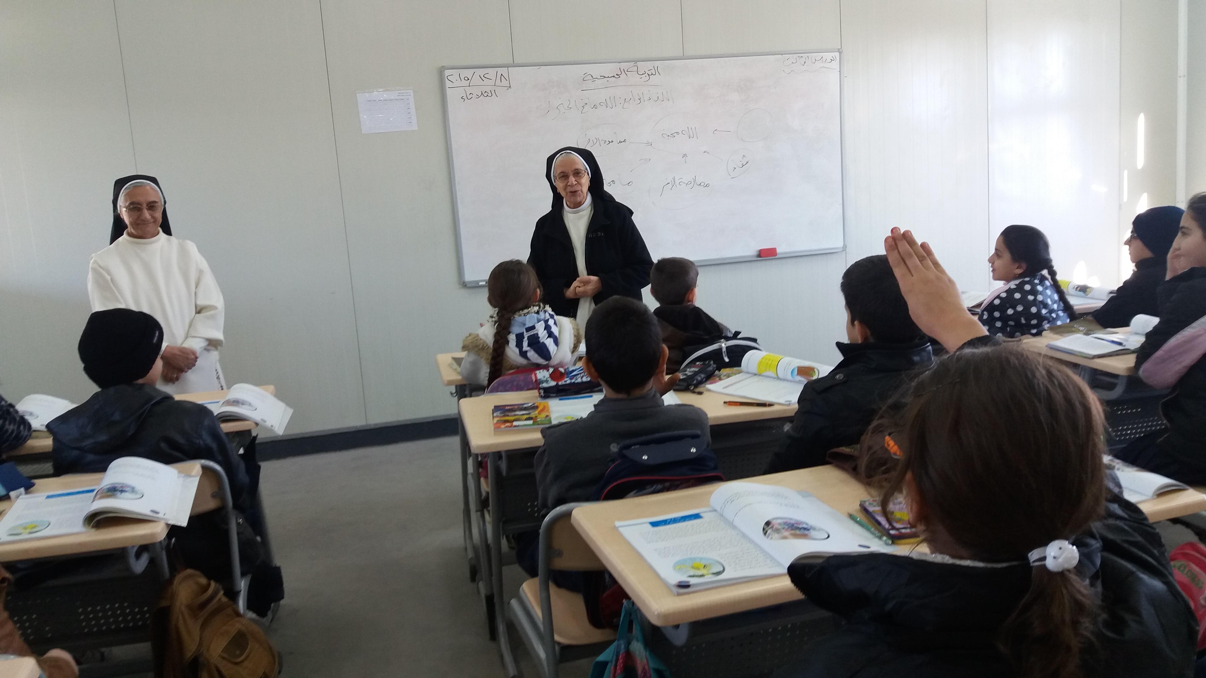 Sister Clara's dream for the future of the children in Iraq comes true