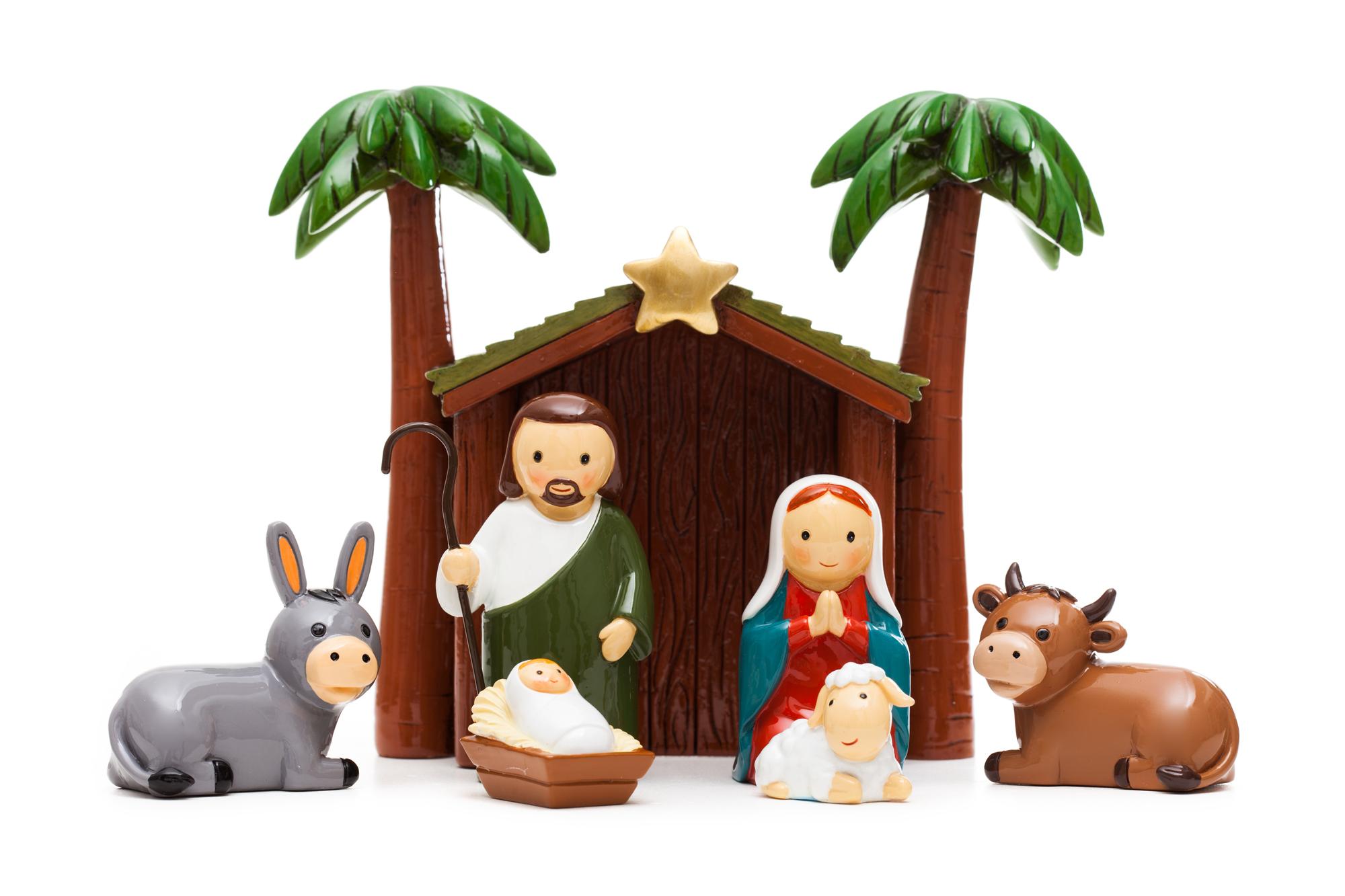 Nativity Scene 7 Piece Set (Little Drops)