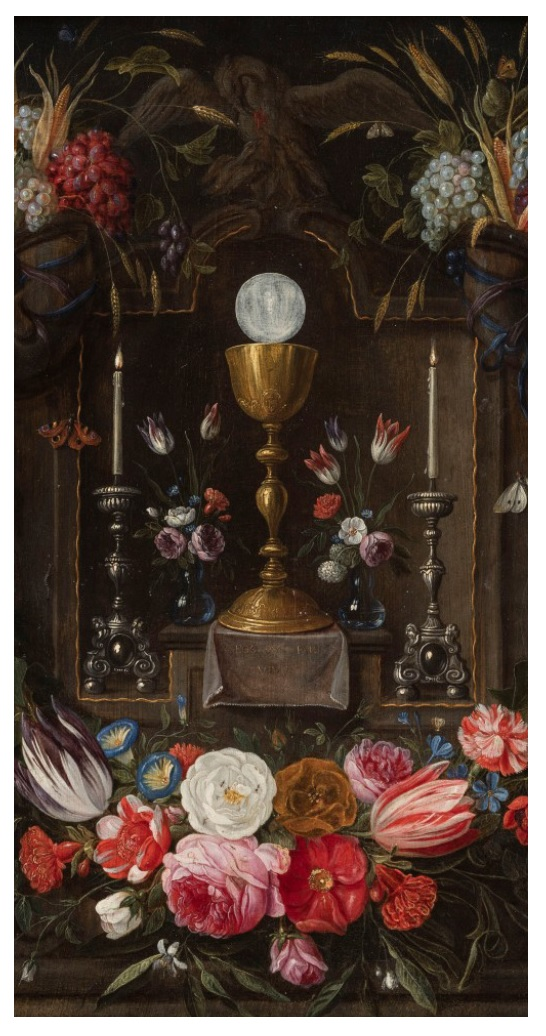 Mass Card -  Eucharist & Chalice