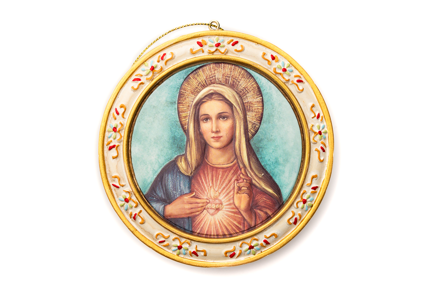 Immaculate Heart Plaque W/Easel