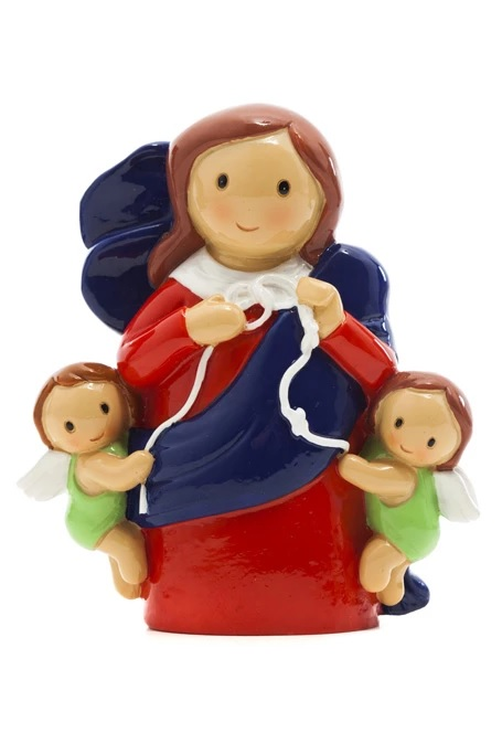 Our Lady Undoer of Knots Statue (Little Drops)